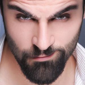 Massage visage homme