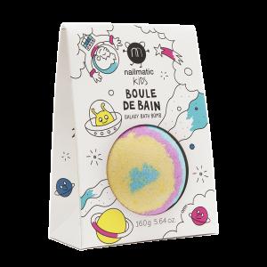 Boule de bain effervescente Galaxy arc en ciel Nailmatic