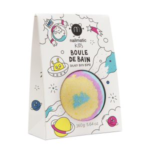 Boule de bain effervescente Galaxy arc en ciel Nailmatic