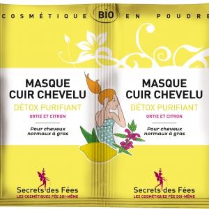 Masque cuir chevelu détox, purifiant Secret des Fées
