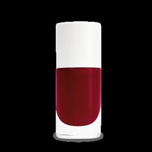 Vernis biosourcé Kate rouge Bordeaux Nailmatic